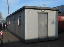 40 FT X 10 FT OPEN PLAN PORTABLE CABIN WITH KITCHEN AREA