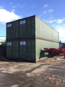 HEAVER BROS LTD SHIPPING CONTAINERS