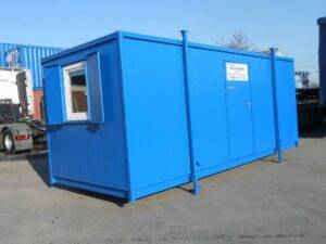 NEW ANTI VANDAL PORTABLE CABIN OFFICE FOR SALE