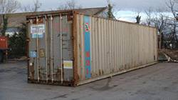 40 FT X 8 FT USED SHIPPING CONTAINER FOR SALE