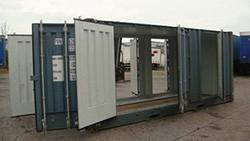 20 FT X 8 FT MULTIDOOR CONTAINER FOR HIRE