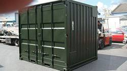 green self storage unit