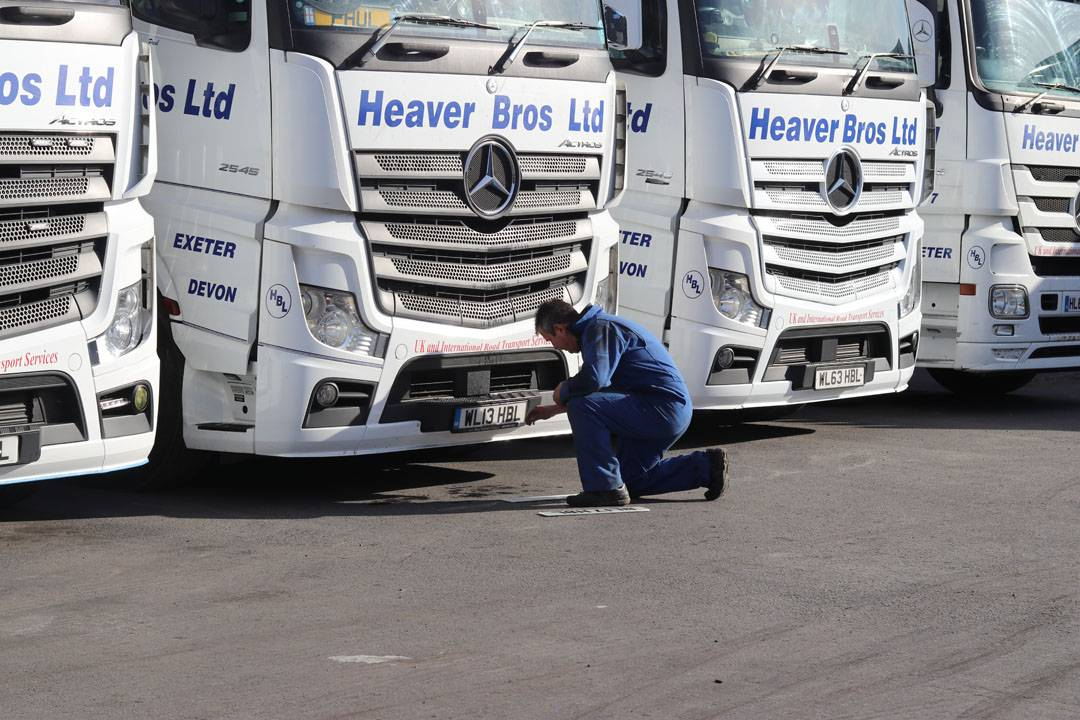 heaver bros ltd road haulage trucks