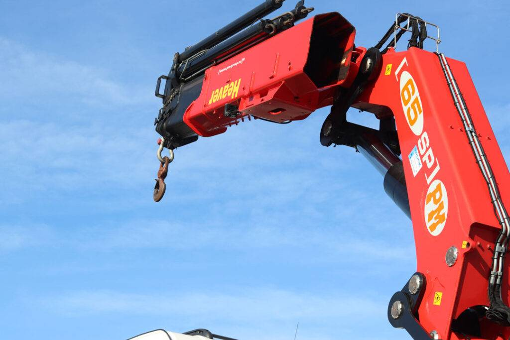 Hiab Cranes | Lorry Mounted Crane Hire | Heaver Bros Exeter