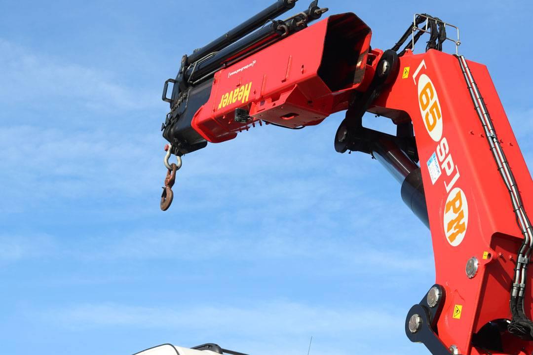 hiab crane