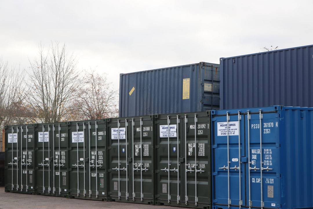 self storage units in secure yard