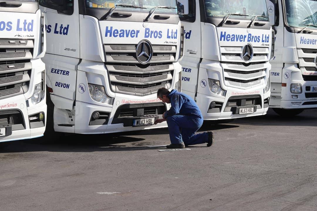 heaver bros ltd road haulage trucks