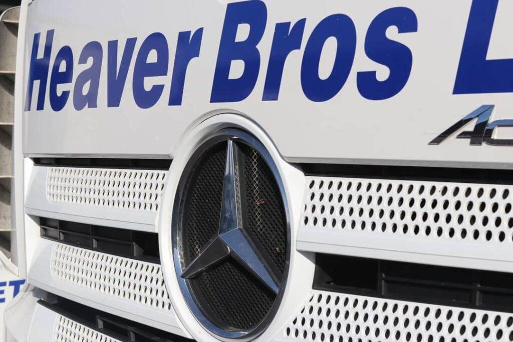 Heaver Bros Ltd Exeter yard with self storage units