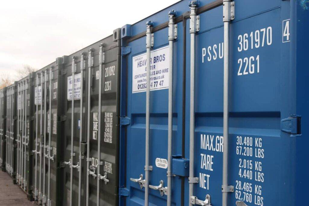 Shipping Containers for sale or hire in Exeter & Devon