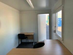 inside 20ft x8ft office