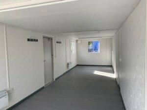 inside open plan anti vandal office
