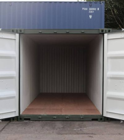 interior of large self storage unit